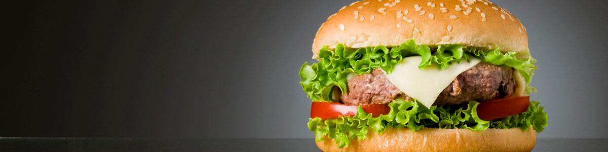 Burger on Sesame Seed Bun